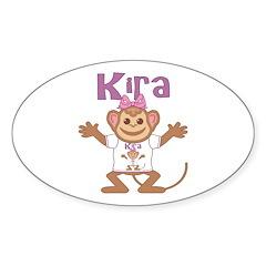 Little Monkey Kira Decal