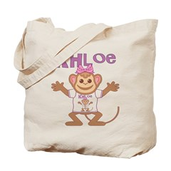 Little Monkey Khloe Tote Bag
