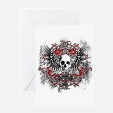 skullcrest Greeting Card