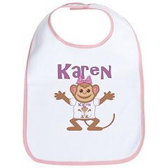Little Monkey Karen Bib