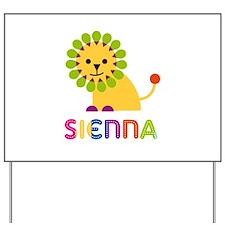 Sienna the Lion Yard Sign