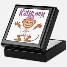 Little Monkey Kathleen Keepsake Box