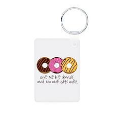 I love donuts! Keychains
