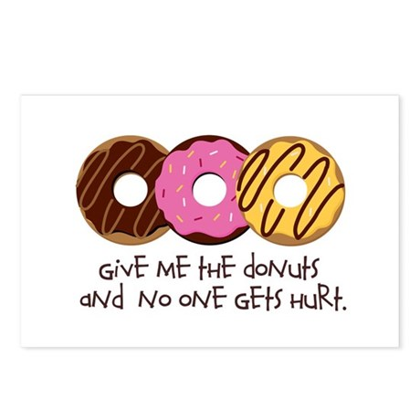 I love donuts! Postcards (Package of 8)
