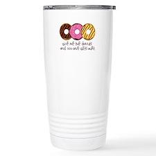 I love donuts! Travel Mug