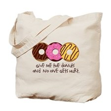 I love donuts! Tote Bag