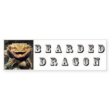 Bearded Dragon Car Sticker