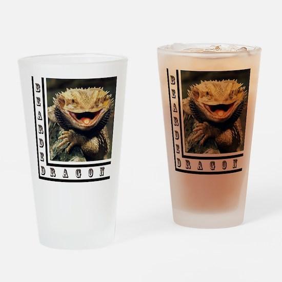 Bearded Dragon Drinking Glass