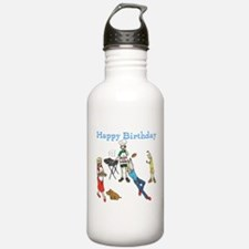 Birthday Party Barbecue Water Bottle
