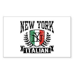 New York Italian Decal