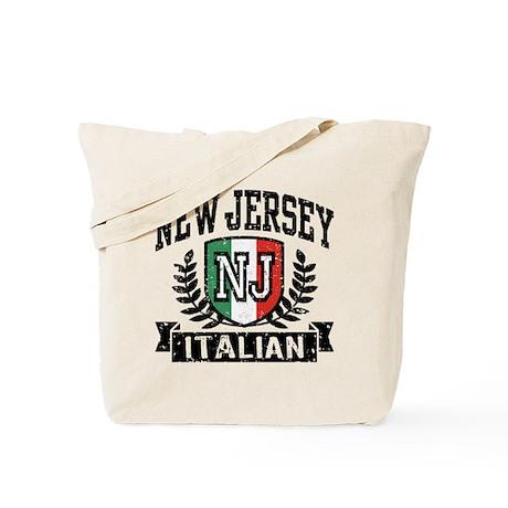 New Jersey Italian Tote Bag