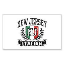 New Jersey Italian Decal