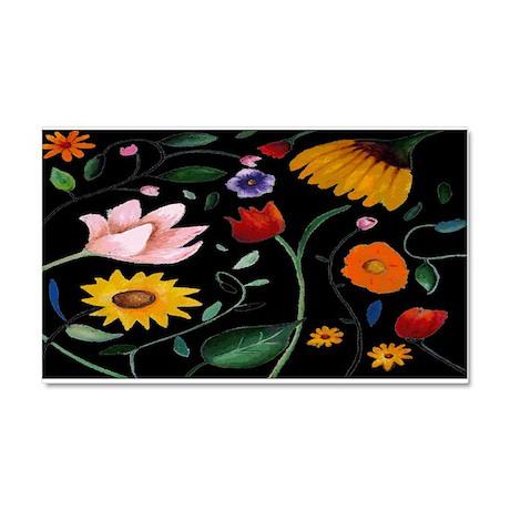 FLOWERS Car Magnet 20 x 12