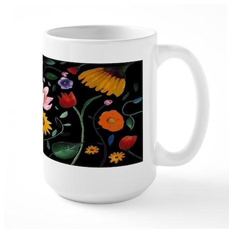 FLOWERS Large Mug
