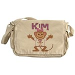 Little Monkey Kim Messenger Bag