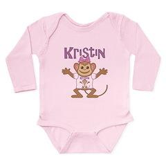 Little Monkey Kristin Long Sleeve Infant Bodysuit