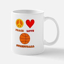 Peace Love Streetball Mug