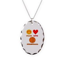 Peace Love Streetball Necklace