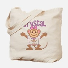 Little Monkey Krystal Tote Bag