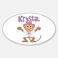 Little Monkey Krystal Decal