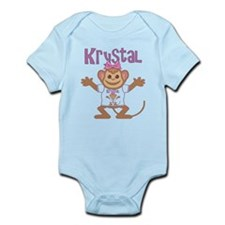 Little Monkey Krystal Infant Bodysuit