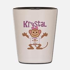 Little Monkey Krystal Shot Glass