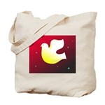 Christian Dove Tote Bag