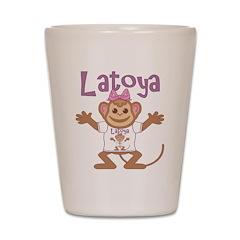 Little Monkey Latoya Shot Glass