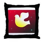 Christian Dove Throw Pillow