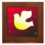 Christian Dove Framed Tile