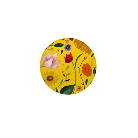 FLOWERS Mini Button (10 pack)