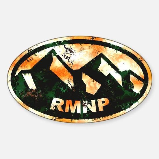 Rocky Mountain Natl Park Sticker (Oval)