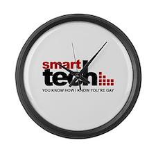 Smart Tech Large Wall Clock