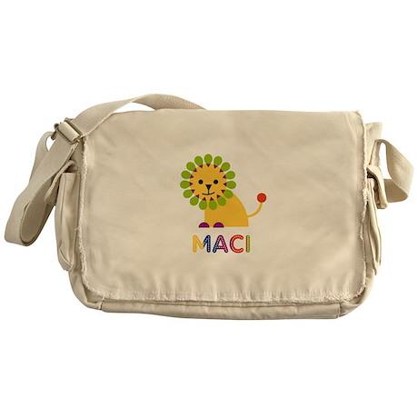 Maci the Lion Messenger Bag