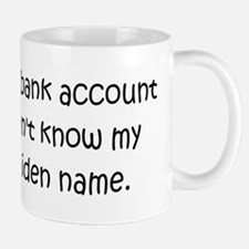 Mothers Maiden Name Problems Mug