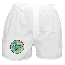 USS Sterlet Boxer Shorts