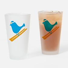 Bluebird Drinking Glass