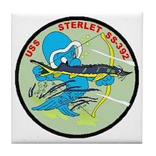 USS Sterlet Tile Coaster