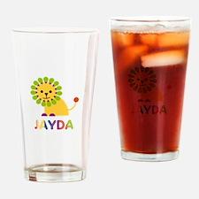Jayda the Lion Drinking Glass