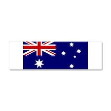 Australian Flag Car Magnet 10 x 3