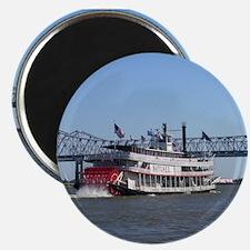Cute Steamboat Magnet