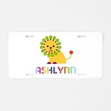Ashlynn the Lion Aluminum License Plate