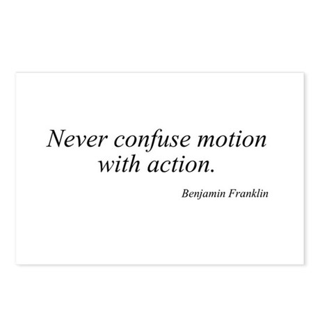 Benjamin Franklin quote 118 Postcards (Package of