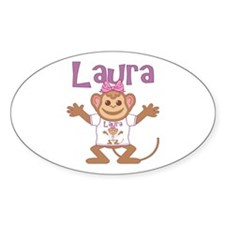 Little Monkey Laura Decal