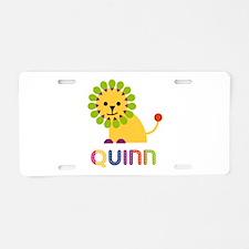 Quinn the Lion Aluminum License Plate