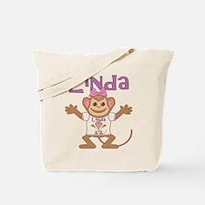 Little Monkey Linda Tote Bag