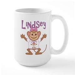 Little Monkey Lindsey Mug