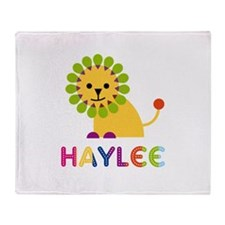 Haylee the Lion Throw Blanket