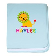 Haylee the Lion baby blanket