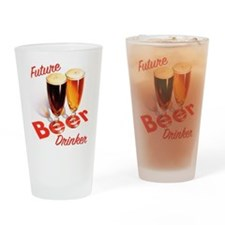 Future Beer Drinker Drinking Glass
